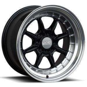 XXR-002.5 Black machined by XR Wheels Switzerland